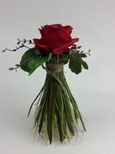Vaas met roos