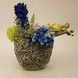 Decoratie ovale pot